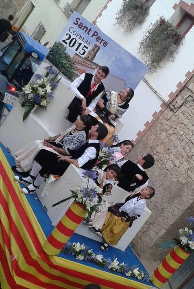 Traditions d'Espagne. Ici à Corbera